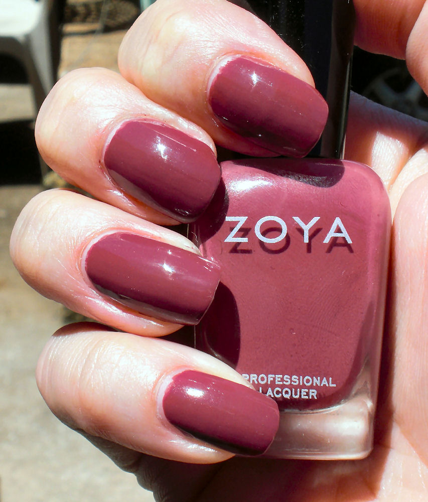 Zoya Coco is one of those colors I would never pick up  since I m not    Zoya Flowie