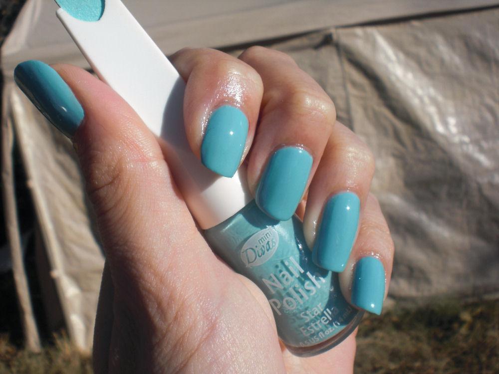 Concrete And Nail Polish Mini Divas