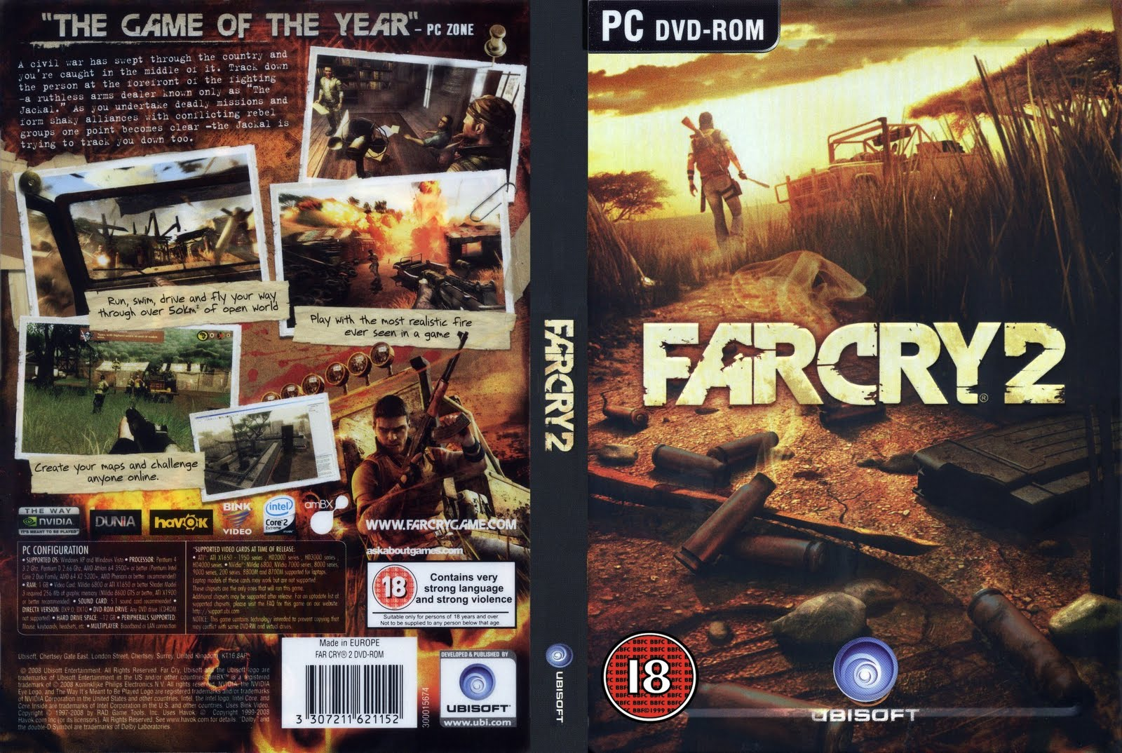 Welcome To Sohail Play City Far Cry 2 Pc Dvd