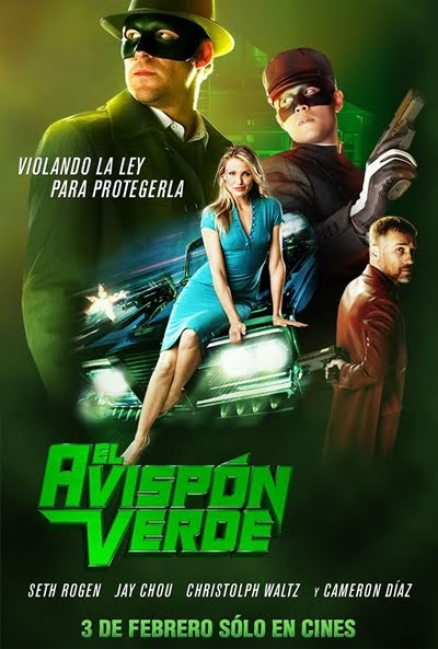Descargar El avispón verde [The Green Hornet] DVDRip Español Latino