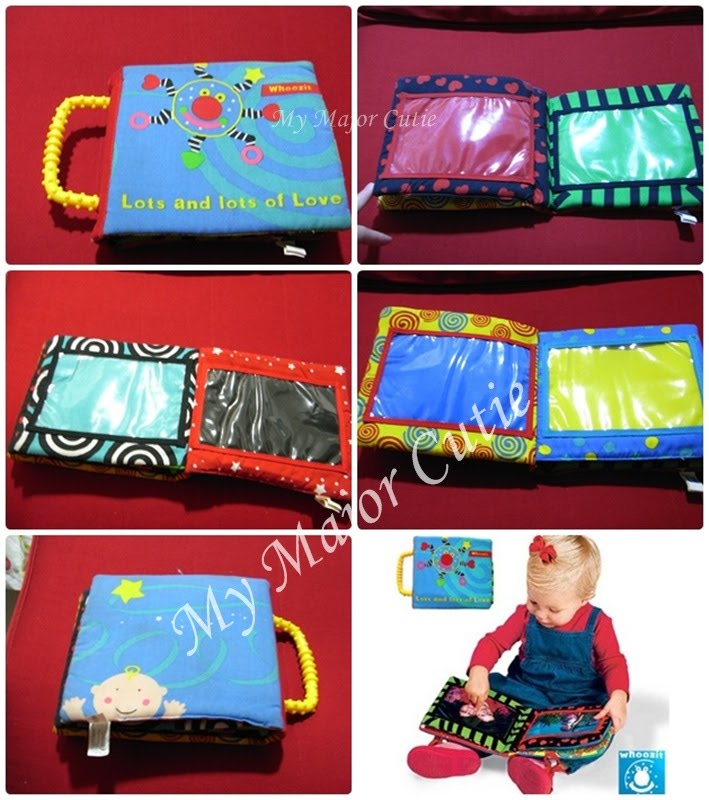 My Major Cutie Cloth Book Soft Book Whoozit Fabric Album