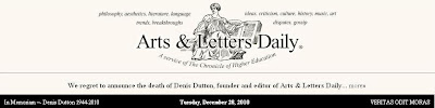 arts letters daily the network december 2010 20509