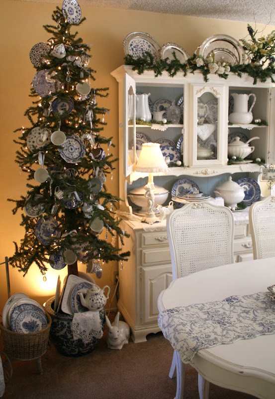 Romantic Homes Decorating: My Romantic Home: Decorating For Christmas