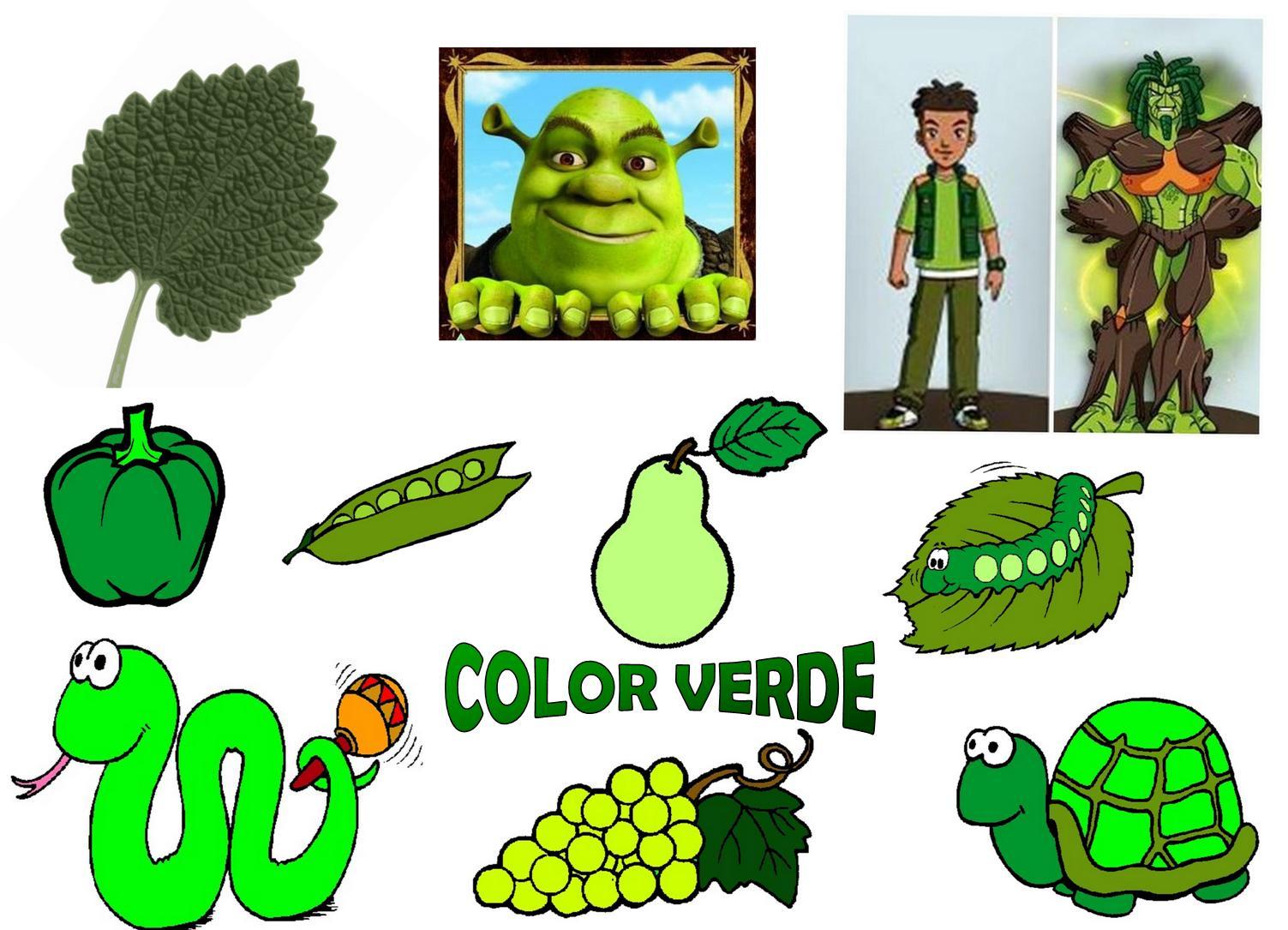 Dibujos Animados De Color Verde: Infantil Con Gema. Colegio Santa Ana Caspe.: TACHÁN... EL