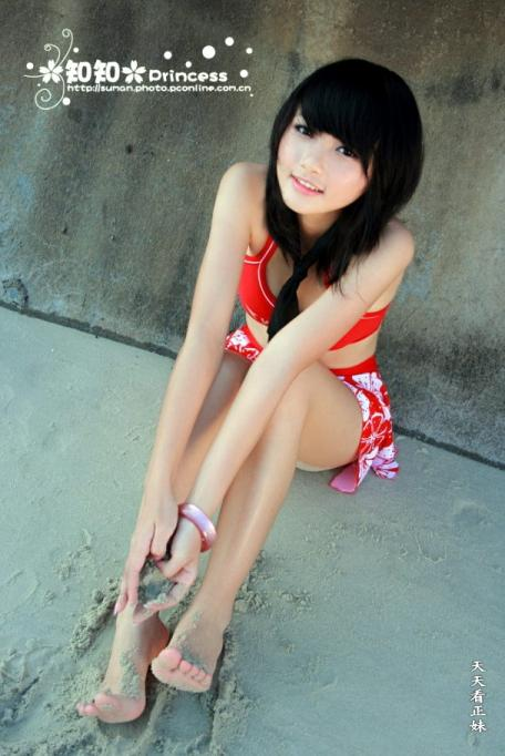 Japan Model Gallery Japanese Teen Girl On The Beach-4409