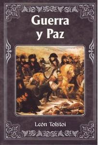 Portada de Guerra y paz, de León Tolstoi