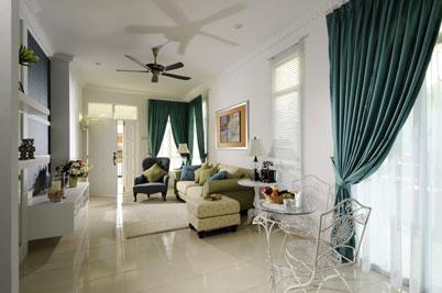 Deko Ruang Tamu Rumah Semi D Desainrumahid