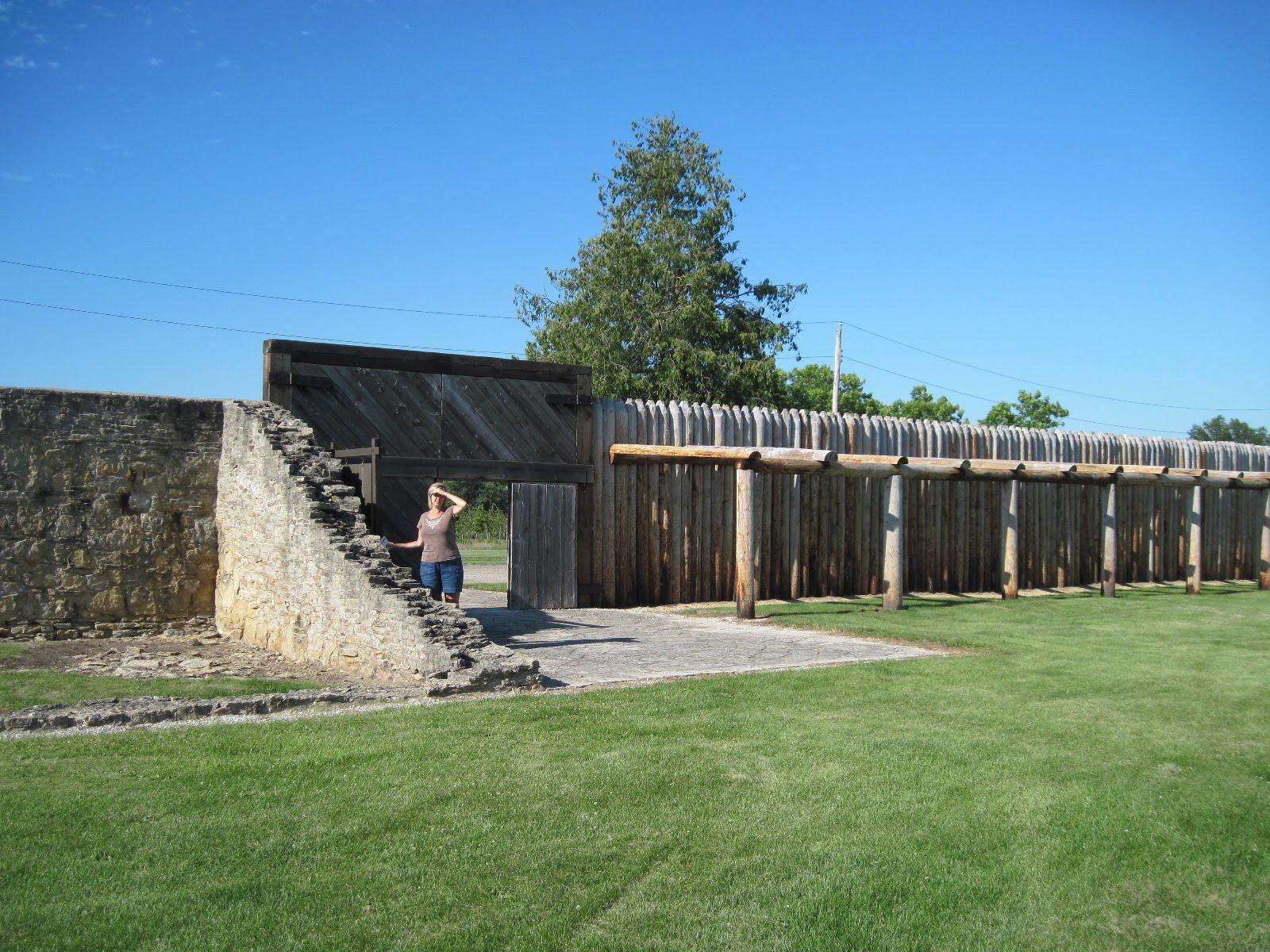 Iowa Wall Sawing Service : Abandoned nineteenth century fort in iowa atkinson