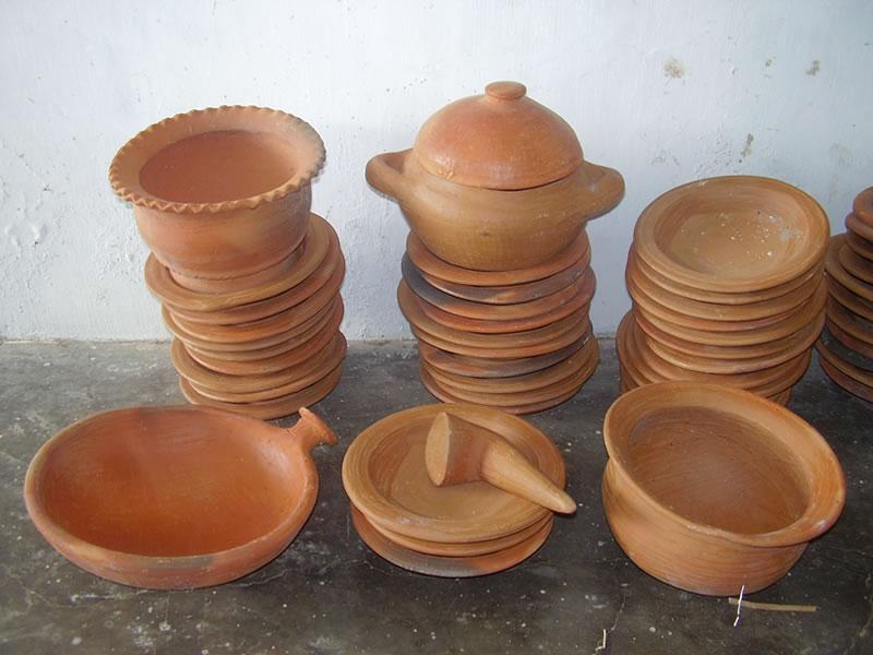 Tembikar Untuk Masak Peralatan Dapur Gerabah