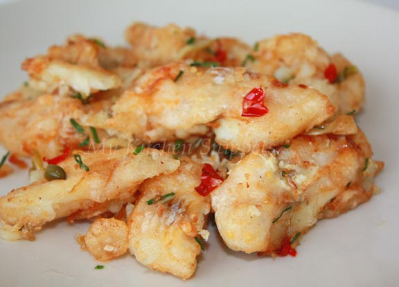 My Kitchen Snippets: Salt and Pepper Fish Fillet