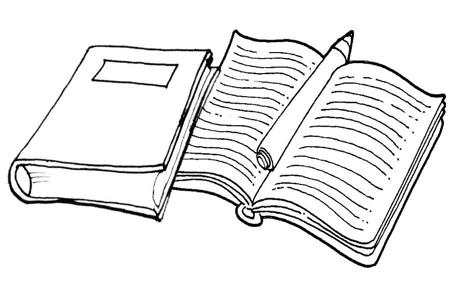 Desenhos De Livros Para Colorir E Pintar Qdb