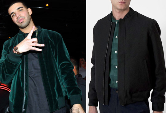 6cabc8b672e He celebrated the finale with an official after-party At Tryst Nightclub.  Drake wore a green velvet bomber jacket