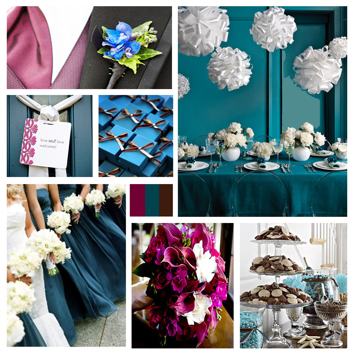 Roses And Doves: Emerald Green Theme