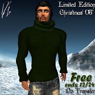 DE Designs Men's christmas 08 Sweater