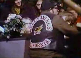 Monterey Hells Angel guy at Altamont. His name will remain a secret.