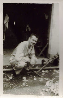 My father, James W. Hamilton, M.D., while serving in the U.S. Army in the Philippines in World War II
