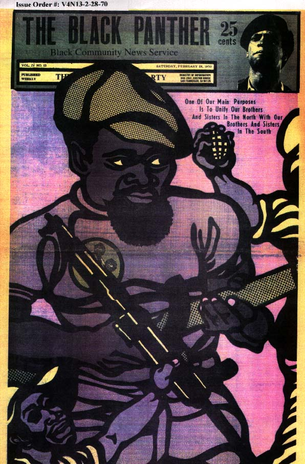 Flyer Goodness: Black Panther Propaganda