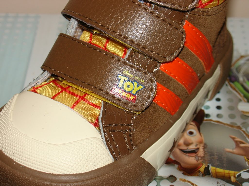 Ric On The Go Adidas Woody Toy Story Toddler Boots