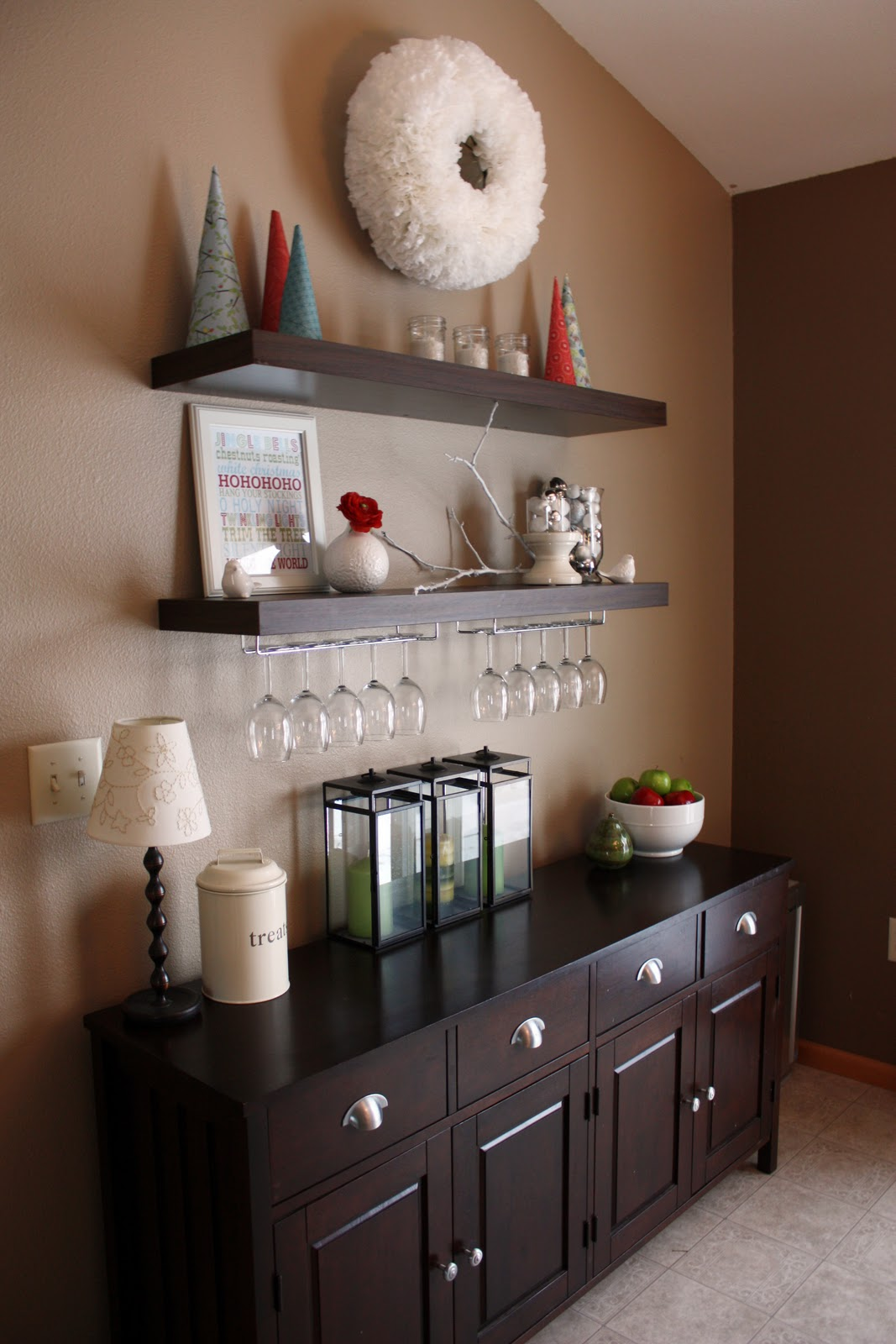 Dining Room Shelf Ideas Iheart Organizing Wreathdiculously Easy And Cheapo
