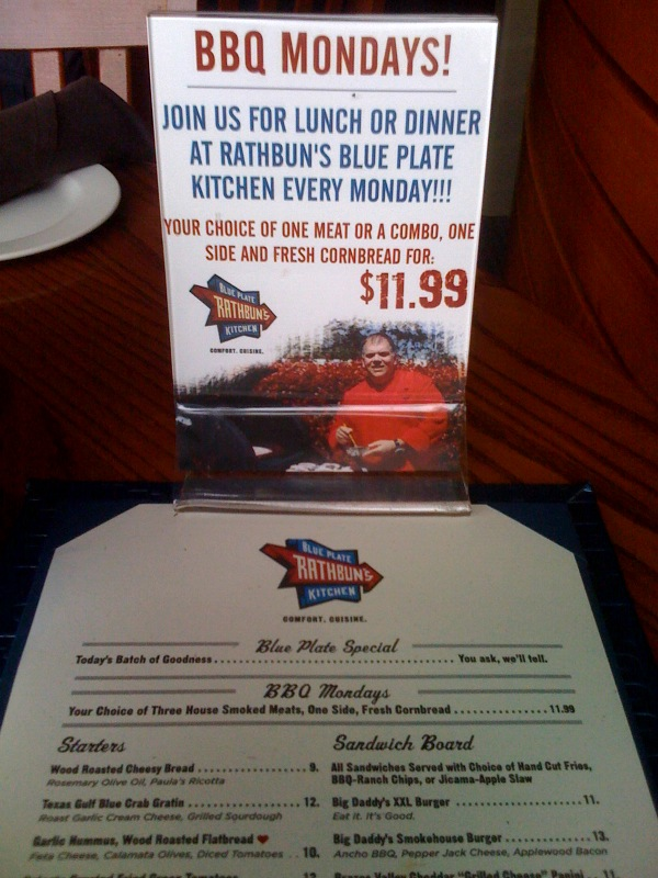 Rathbun's Blue Plate Kitchen | Full Custom Gospel BBQ