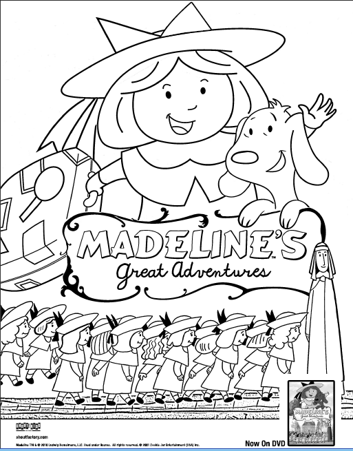 CLOSED: Madeline's Great Adventures (+Dvd Giveaway