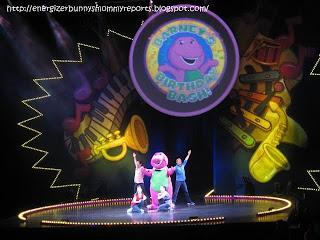 Barney Live In Concert Birthday Bash Mommy Snippets - Barney live in concert birthday