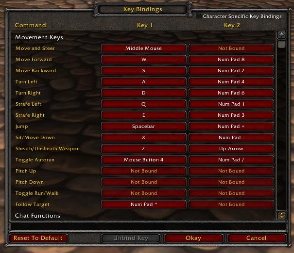 Warcraft Key