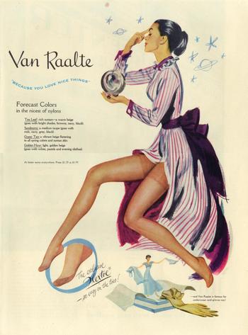 Vintage Fashion Ad 62