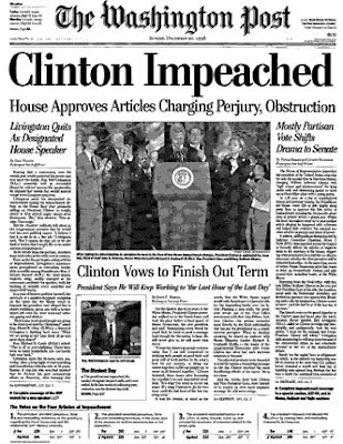 The Freedom Fighter's Journal: HAPPY CLINTON IMPEACHMENT DAY!