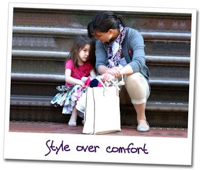 , Should Tot Girls Wear Heels, Like Suri Cruise?