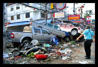 Phuket Tsunami - Patong Beach
