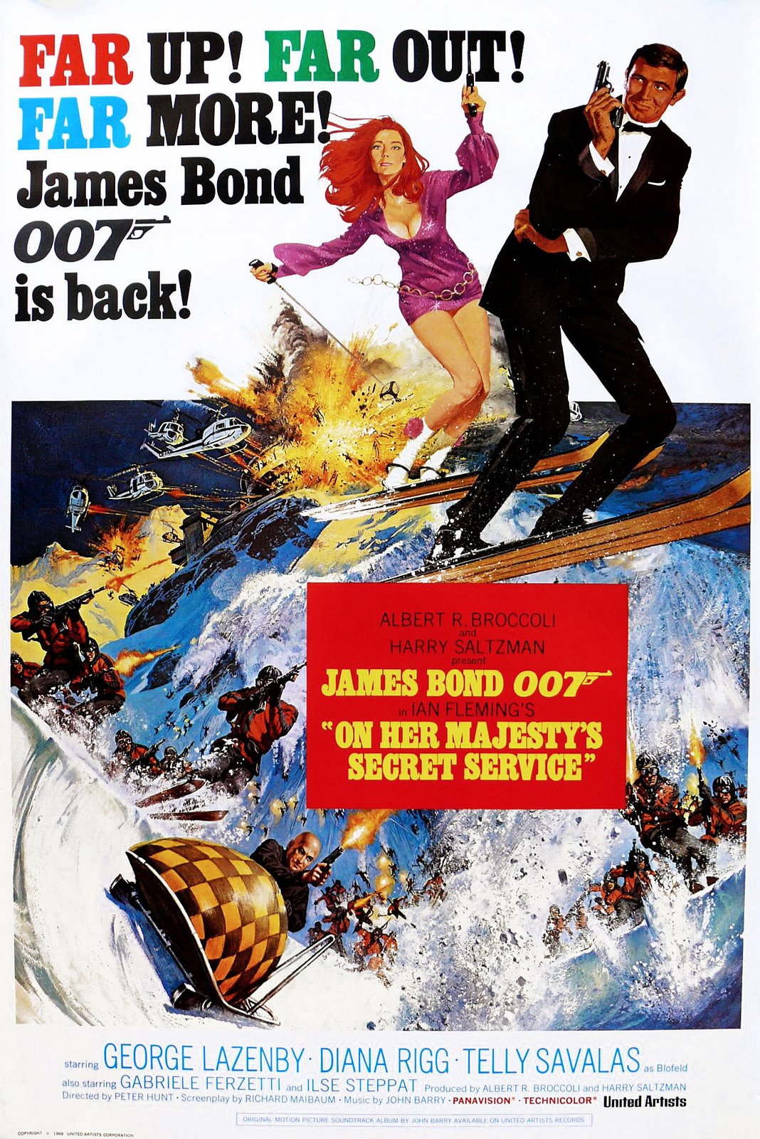 James Bond: On her majesty's secret service
