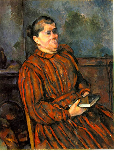 ' Time Paul Cezanne 1839-1906 Paints Wife