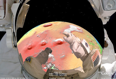 Fun with astronaut mode in Google Earth | Astronaut for Hire