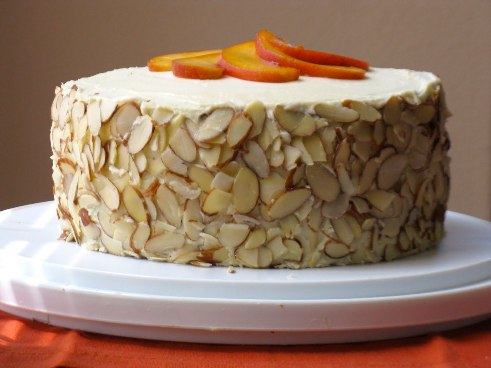 White Layered Cake Recipes: The Cilantropist: White Chocolate Layer Cake With Apricot