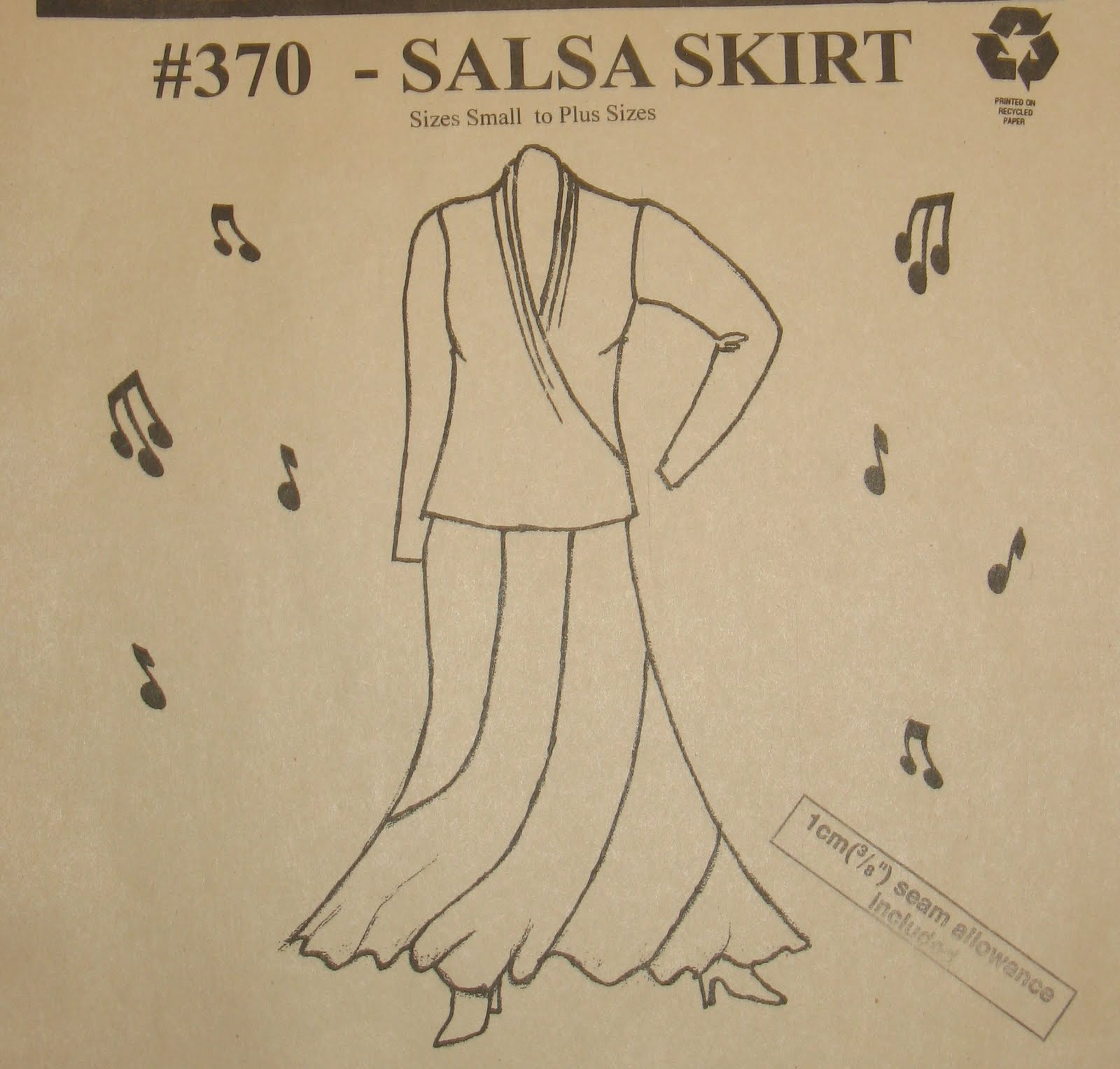 Salsa Skirt Pattern 9