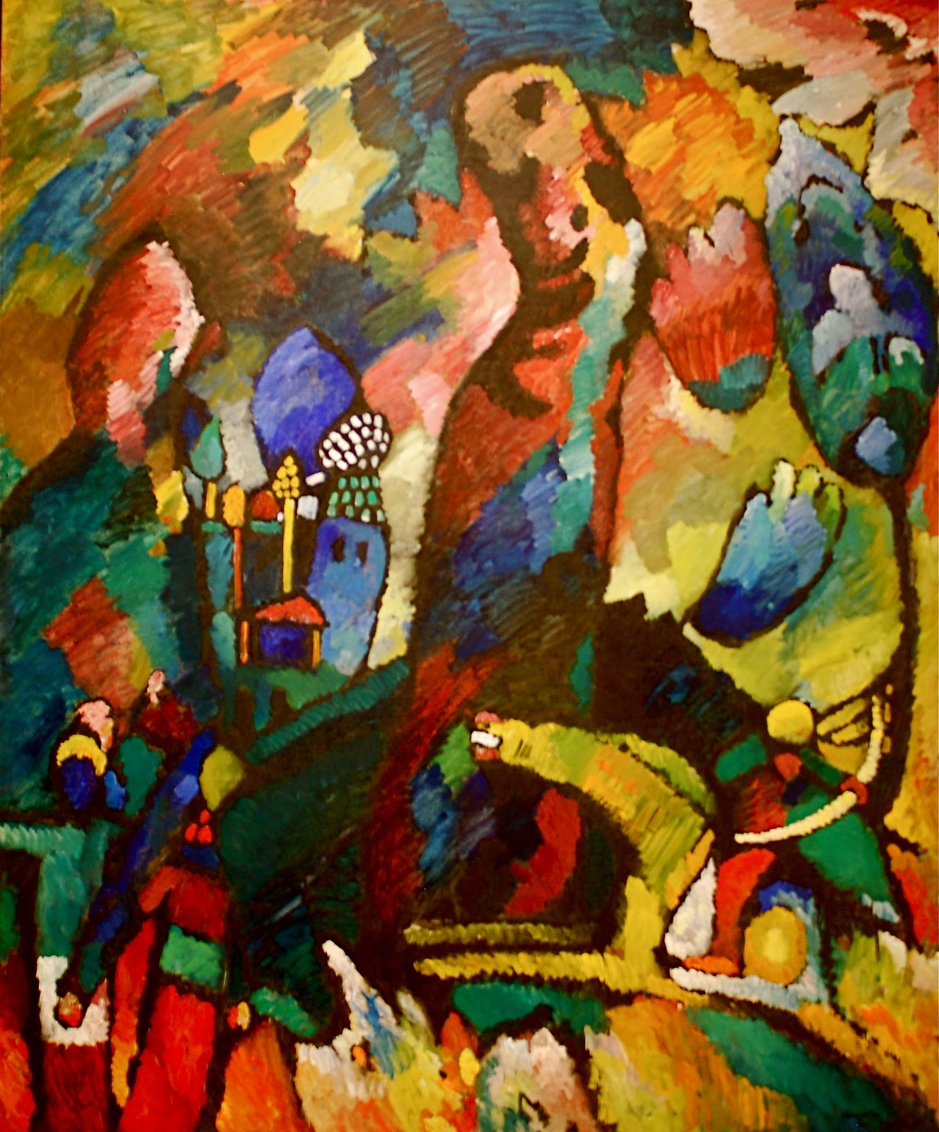 Cuadros Moma Nyc Nyc Kandinsky Paintings At The Museum Of Modern Art