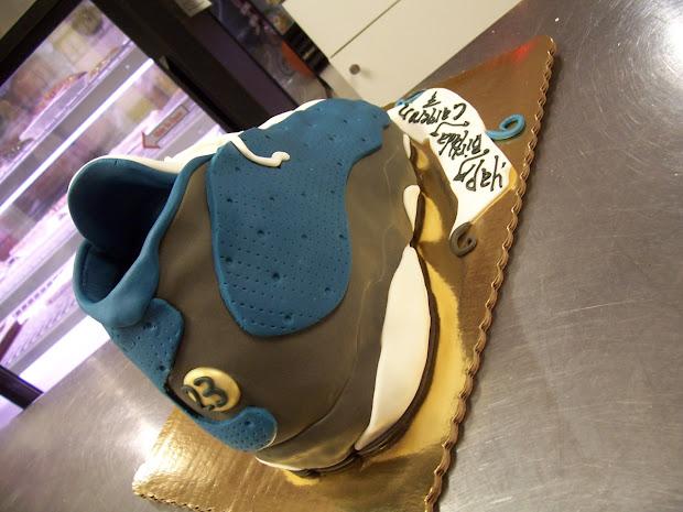 meet 91798 c209d Dope Air Jordan 13 Flint Birthday Cake Infamous