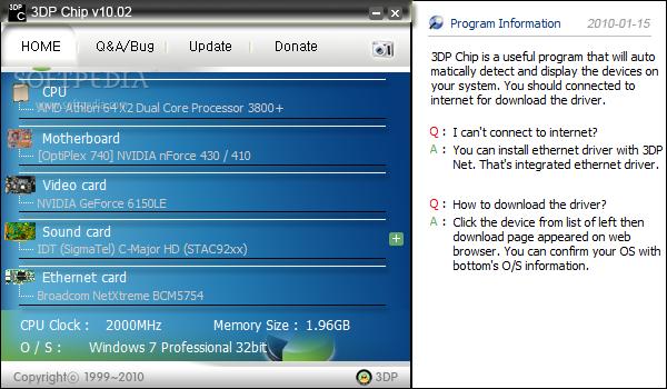Software pencari Driver 1