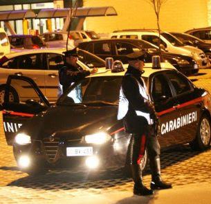 Posto di blocco Torremaggiore Carabinieri