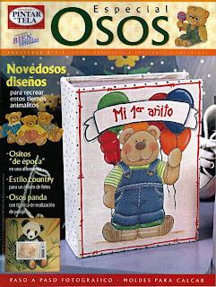Pintar en Tela Especial osos