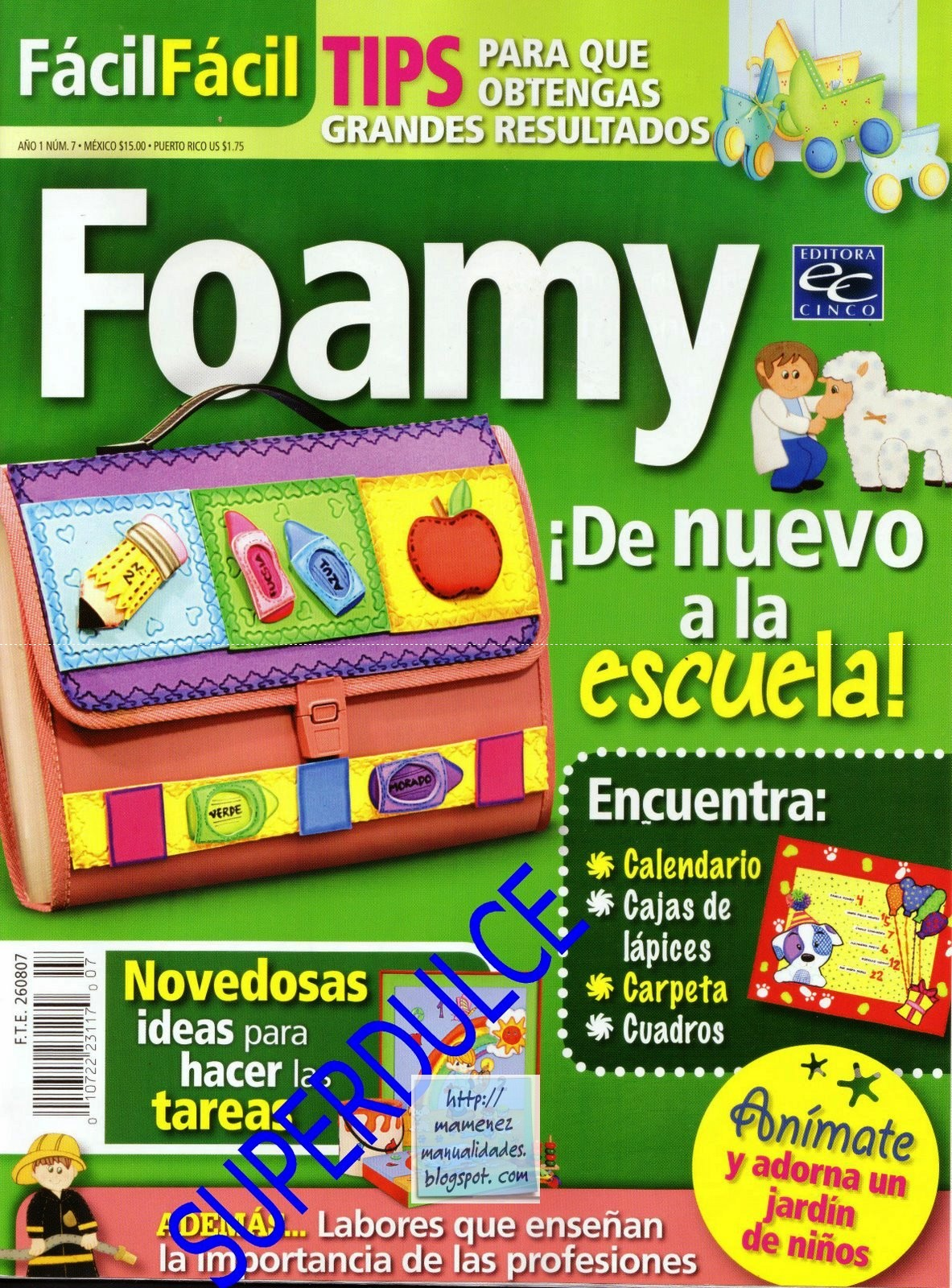 Revista: FácilFácil No. 7. Foamy