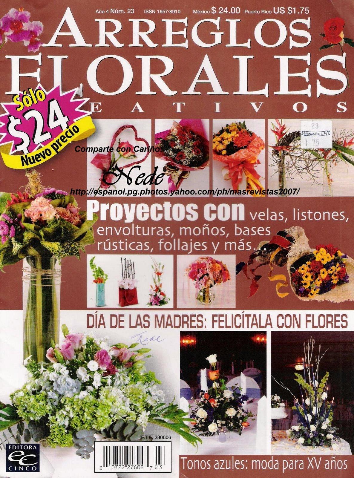 Revista: Arreglos florales No. 23