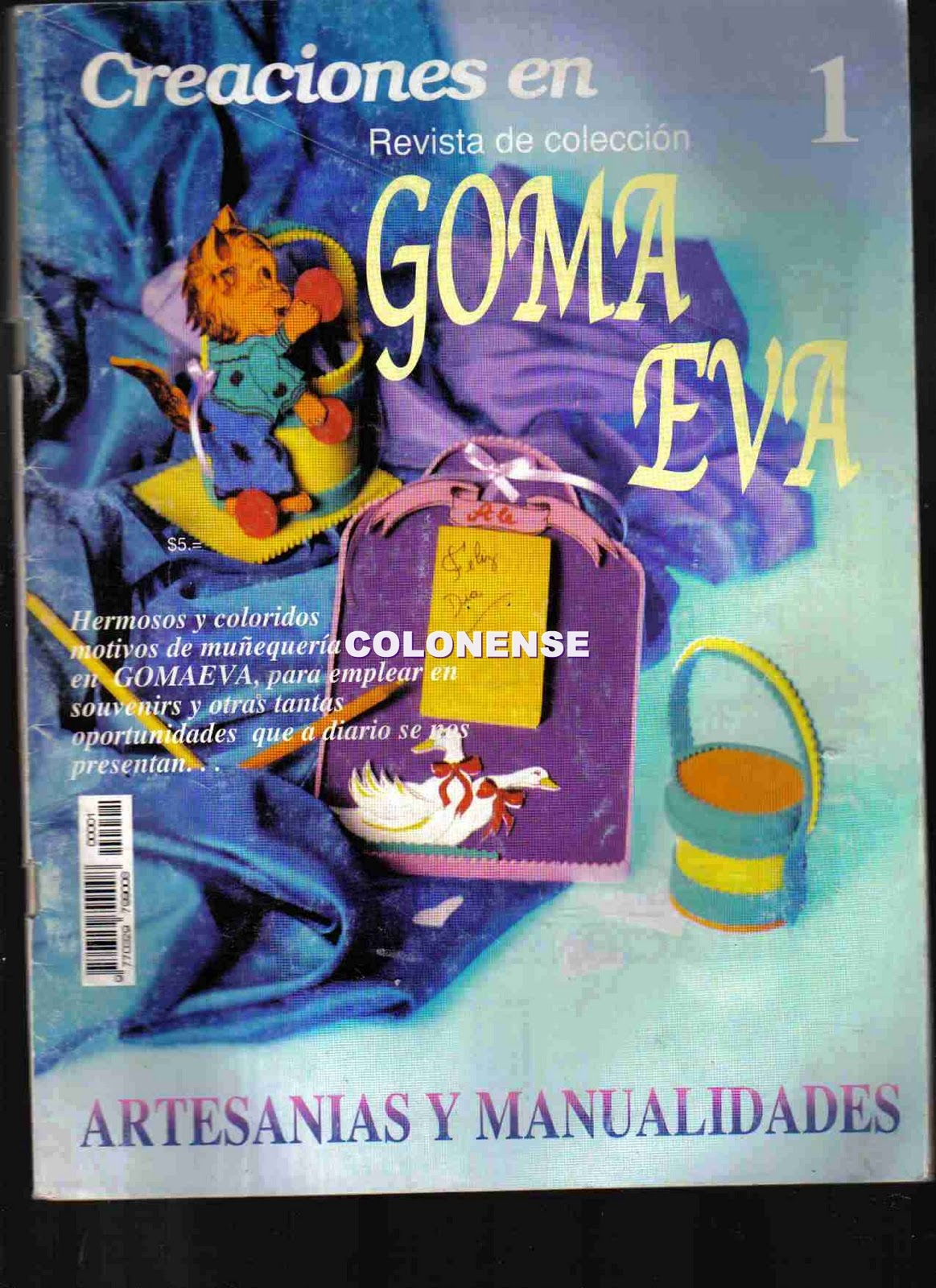 Revista: Creaciones en Goma Eva (Revista de colección)