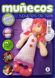 Revista: Muñecos y Juguetes de tela No. 24