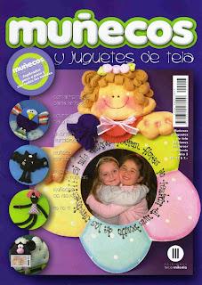 Revista: Muñecos y Juguetes de tela No. 23