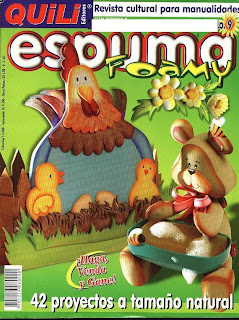 Quili Espuma Foamy Nro. 9