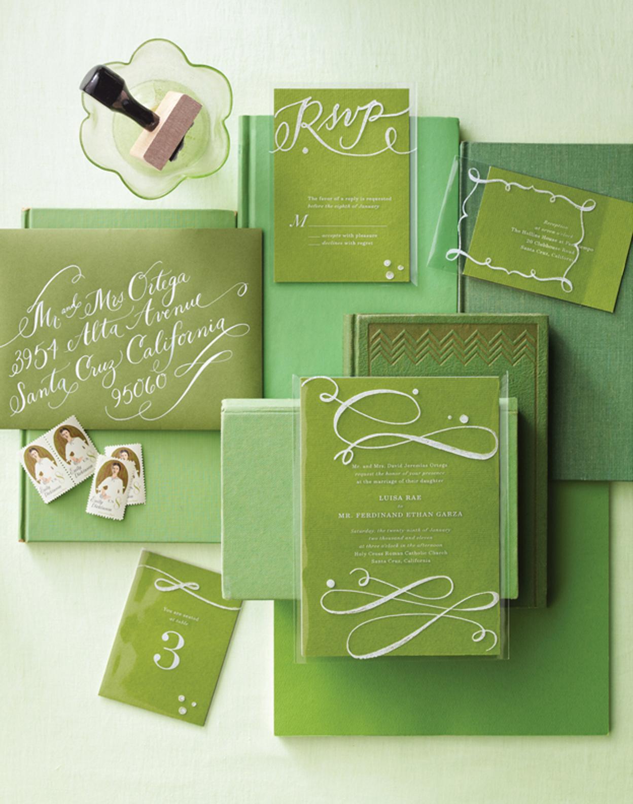 Love, Jenna: Fresh Palette featured in Martha Stewart Weddings