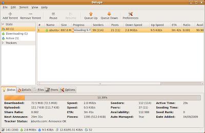 TuxArena Blog: Overview: 5 BitTorrent Clients for Linux