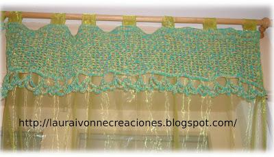 Laura Ivonne Creaciones Bordes superiores en crochet para